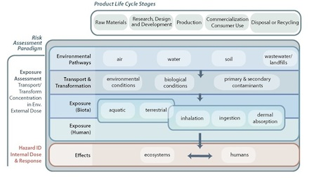 Product Cycle for Nanotechnology Risk Assessment