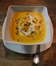 Bugs Cafe: Sweet Potato Soup with Honey Bee Larvae