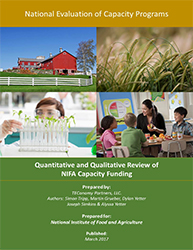 Capacity Funding: High Impact for Land-Grant Colleges and Local ...
