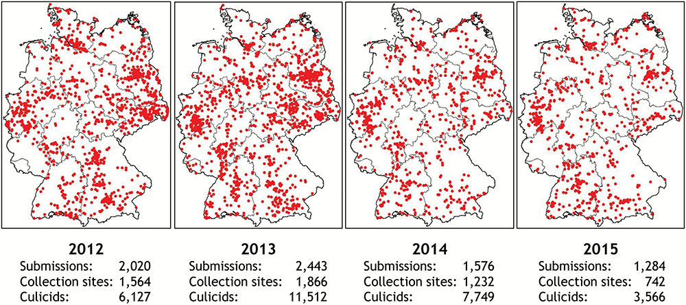 Citizen Scientists Collect 29,000 Mosquitoes in Germany and Help Detect Spreading Populations of Invasive Species
