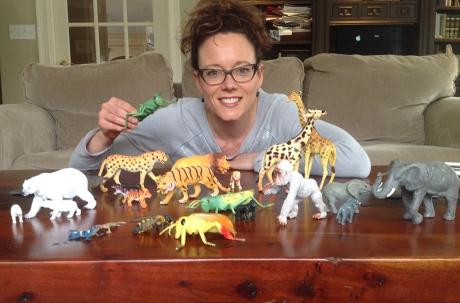 Rayda Krell coffee table safari