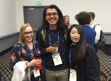 Stephanie Anderson, Tanner Peltier, and Mina Jeong